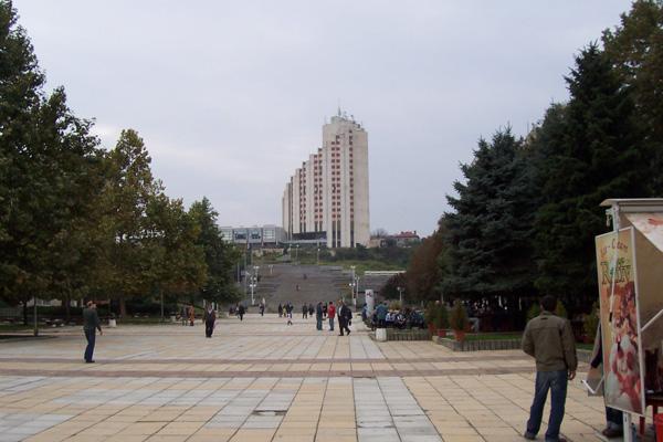 град Разград - център